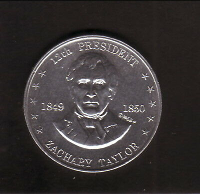 Zachary Taylor--1968 Shell Presidential Coin
