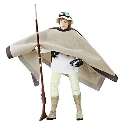 Star Wars The Black Series Luke Skywalker Landspeeder & Figure - NEW