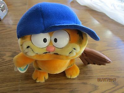 Garfield Baseball Hero Plush Dakin NWT 9""