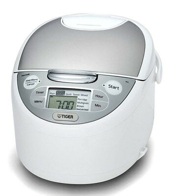 New Tiger - Multi-functional Rice Cooker - JAX-S10A from Bing Lee
