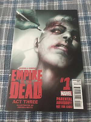 George Romero's Empire of the Dead Act 3 #1 1st print