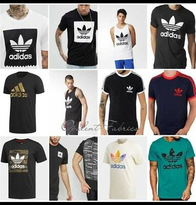 Adidas Originals Mens California Retro Essentials Crew Neck Short Sleeve T-Shirt
