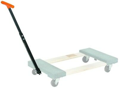 Adjustable Length Convenient Swivel Handle For Wooden Movers Moving Dolly
