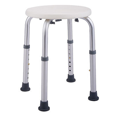 7 Height Adjustable Bath Stool Shower Chair Tub Medical Seat Bathing Aid New