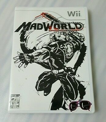 MAD WORLD Nintendo Wii Game