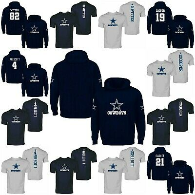 Dallas Cowboys Prescott, Elliott, Cooper, Witten hoodie & t-shirt collection
