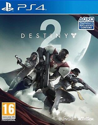 Destiny 2 with Preorder  DLC PS4 Playstation 4 Game Brand New Sealed