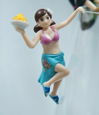 New Set of  5 Kitan Club Fuchiko Taiwan 7-11 City Cafe コップのフチ子 Cup Edge Figure