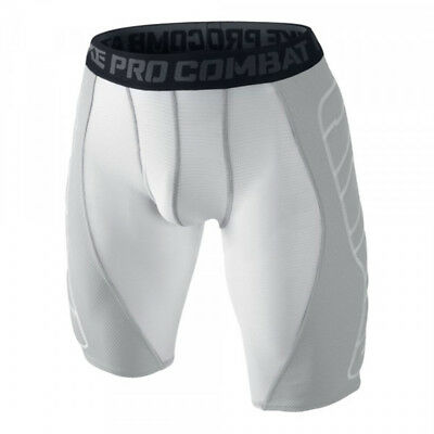 Nike Hyperstrong Baseball Sliding Compression Shorts - weiß/grau