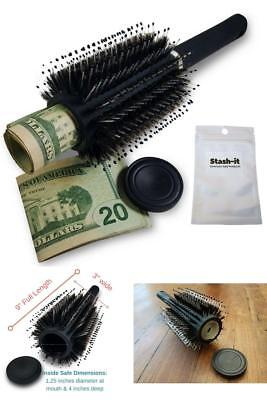 Hidden Container Safe Can Stash It Jewelry Home Hair Brush Secret Diversion BEST