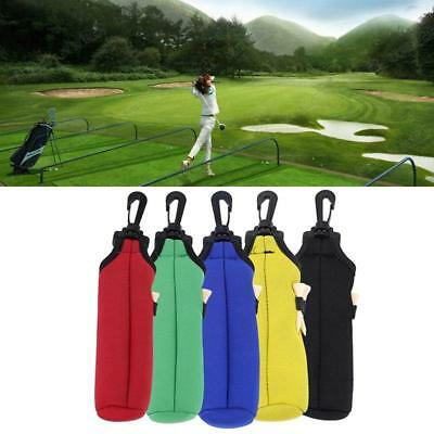 LQS Golf Ball Tees Pouch Holder Sports Golfing Accessories Utility Bag Pocket