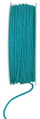 Cord turquoise 4mmx25m Cord band Craft cord craft cord 0.36 EUR/Meter