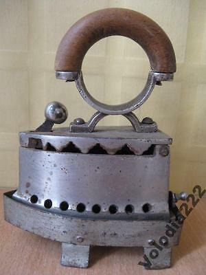Vintage OLD ANTIQUE RARE Small iron glands with stand