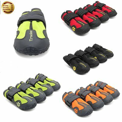 4 Pcs Pet Dog Cat Shoes Puppy Running Boots Waterproof Anti-Slip Paw Protector
