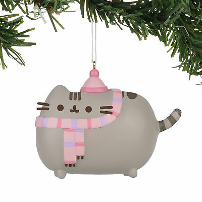 Department 56 4058302 Pushn Winter Pusheen Orn Hanging Ornament