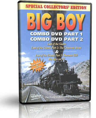 Union Pacific Big Boy Story, Last of the Giants, 2 DVDs 1 Case - Pentrex Steam