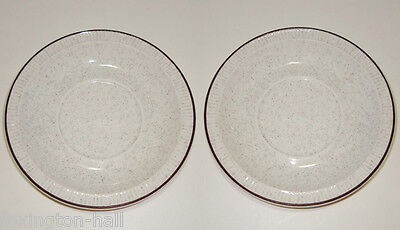 2 RETRO POOLE SAUCERS oven to tableware