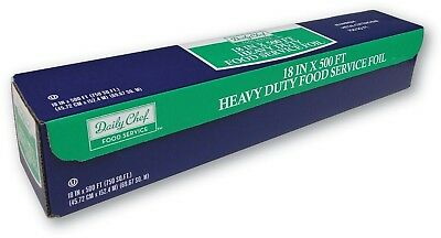 Daily Chef Heavy Duty Food Service Foil 500 Ft Heavy Duty Aluminum Foil 18 X 500