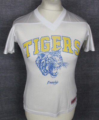 Vintage Tigers American Football Jersey Shirt Youths Small Soffe