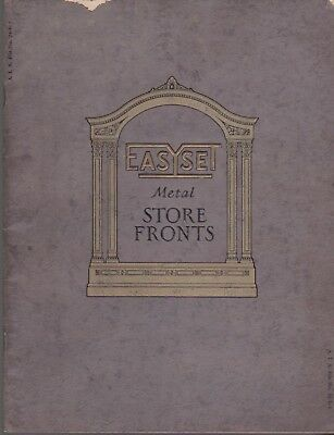 Easyset Metal Store Fronts 1928 Pittsburgh Plate Glass Company