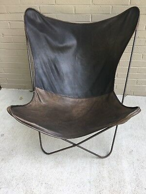 Knoll Hardoy MCM Iron Butterfly Chair Frames ONLY Vtg Original Raw LOCAL Pickup