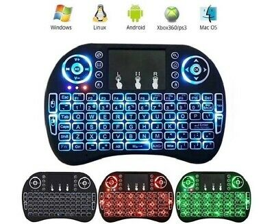 Mini Wireless  2.4G Backlit Touchpad Keyboard with Mouse for PC/Mac/Android Box