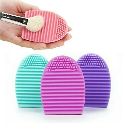 Brush egg Oeuf silicone brosse nettoyage pinceau maquillage Neuf suivi gratuit