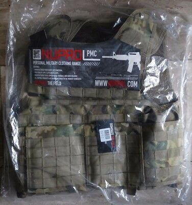 Nuprol PMC Plate Carrier – NP Camo Army Weste