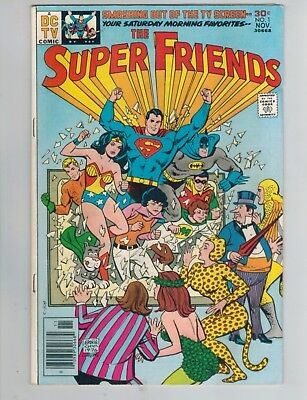 The Super Friends 1, 2, 3   Lot of 3 from DC Comics 1976