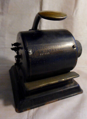Antique Protectograph Model H by G.W. Todd Company Check Writer Cheque Protector