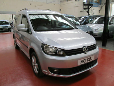 11 Volkswagen  Caddy   Wheelchair Adapted   Disabled Vehicle