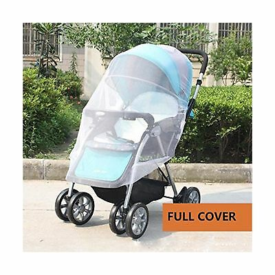 IFfree 2pcs full cover baby mosquito net for Strollers Carriers Car Seats Cra...