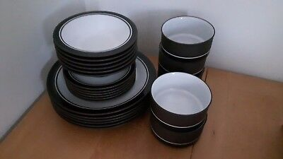 HORNSEA CONTRAST 1970s RETRO DINNER SERVICE SELECTION PLATES BOWLS REPLACEMENTS