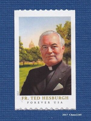 Scott #5242 2017 Father Theodore Hesburgh (Coil Single) 2017 Mint NH