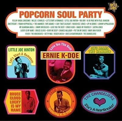 POPCORN SOUL PARTY Various NEW & SEALED LP VINYL (OUTTA SIGHT) NORTHERN R&B MOD