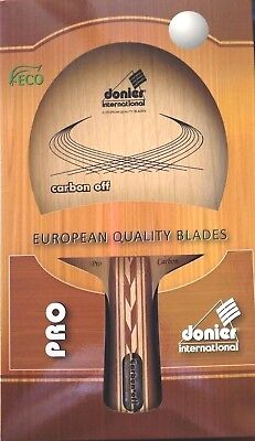 Donier Carbon Off Pro European Quality Blade For Table Tennis
