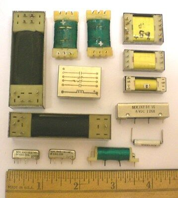 12 Reed Relays Assorted, WHEELOCK, some open, some closed,  Made in USA