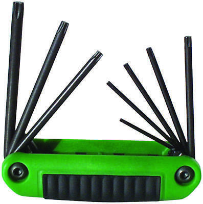 Ergo-Fold 25581 Medium Ergonomic Fold-Up Hex Key Set, 8 Pieces, 4-1/4 in L Handl