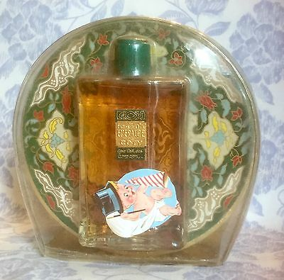 Vintage Coty Emeraude Eau De Toilette & Powder Gift Set New Sealed!!