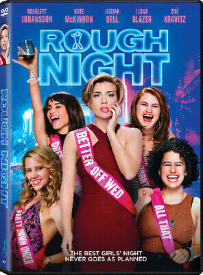 Rough Night (2017, DVD NUEVO) (REGION 1)