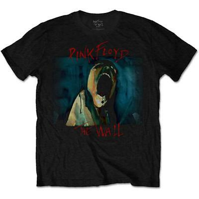 Official Licensed - Pink Floyd - The Wall Scream T Shirt Rock Gilmour