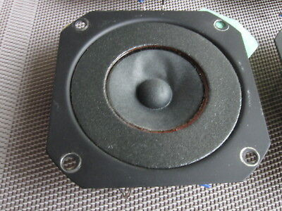 SINGLE Vintage  AKAI SW-177 Tweeter  4 Available  3 In Exc Cond