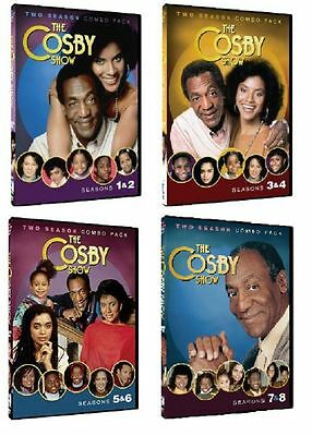 The Cosby Show Season 1 2 3 4 5 6 7 8 Complete Series DVD Set Collection Bill TV