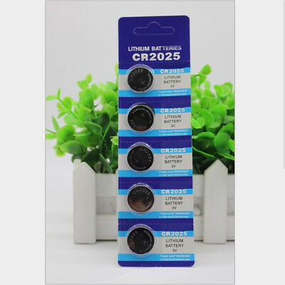 5pc/Set Coin Button Battery Manganese For SONY CR2025 CR 2025 3V Watch new