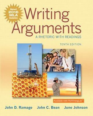 Writing Arguments: A Rhetoric with Readings, MLA Update Edition (10th Edition)