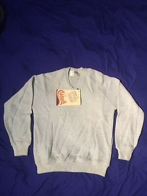 Caldwell Pullover Sweater Baby Blue Vintage new