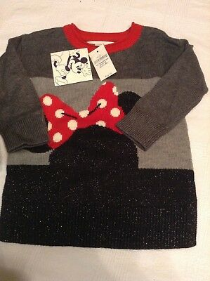 Baby Gap Disney Minnie sweater tunic  multiple sizes NWTS