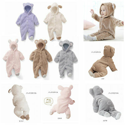 newborn baby winter clothes jumpers fleece warm bodysuit outfits babyshower gift