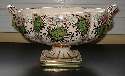 KBNY Florence Italy hand painted porcelain tureen 364/247 vintage