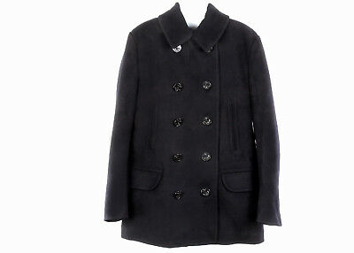 J Crew Men's Dock Peacoat with Thinsulate Navy Size S Style# F5548